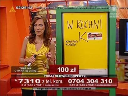 Zagadkowa Noc - TelemediaInteracTv - Beata Cwalińska