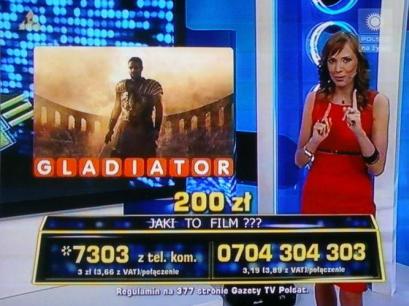 Teleturniej - TelemediaInteracTv - Beata Cwalińska