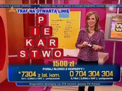 Wielka Wygrana - TelemediaInteracTv - Beata Cwalińska