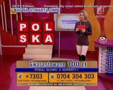 Dziewczyny z fortuną - Telemedia InteracTV- Anna Lerczak