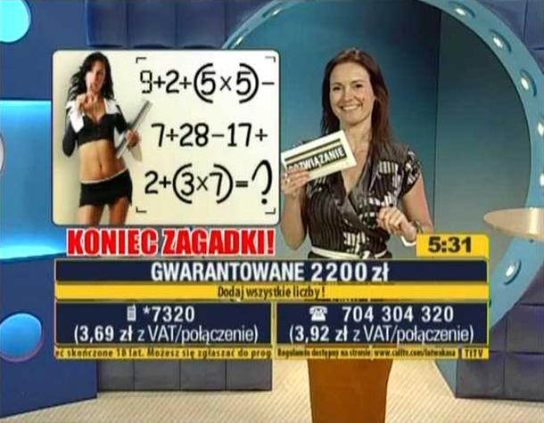 Bianka Gibaszewska - Łatwa Kasa (TVS)