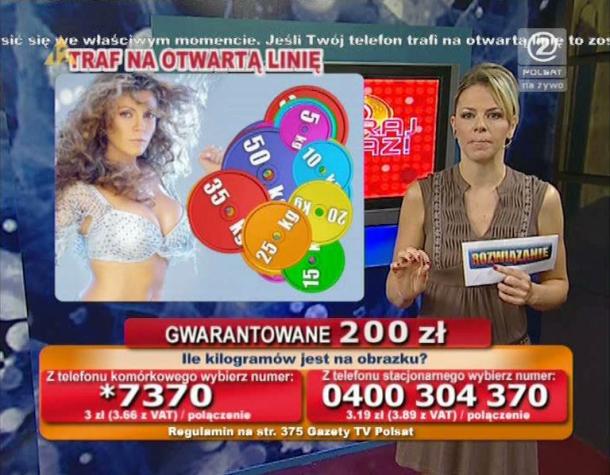 Wygraj Teraz - Telemedia InteracTV - Anna Lerczak