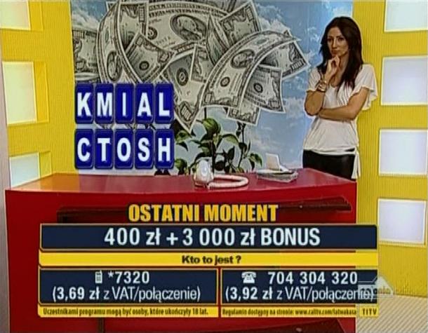 Łatwa Kasa - Diana Hoffmann - Telemedia Interac Tv
