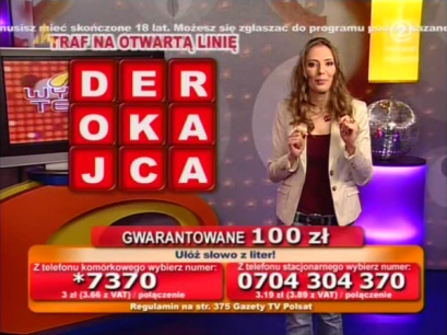 Wygraj Teraz - TelemediaInteracTv - Beata Cwalińska