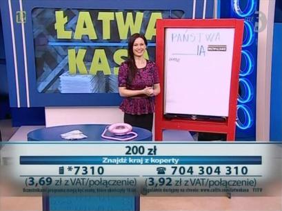 Bianka Gibaszewska - Łatwa Kasa (Tele5)