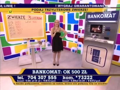 Monika Pachnik - TVN - Po co spać jak można grać