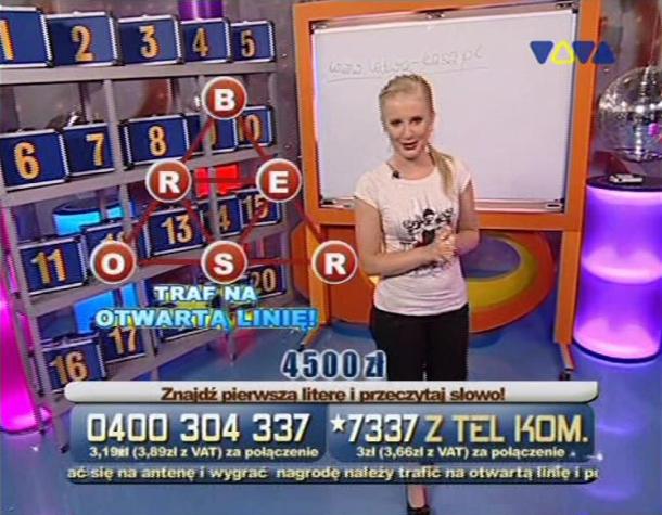 Monika Pachnik - Łatwa Kasa (VIVA Polska) - Telemedia InteracTV