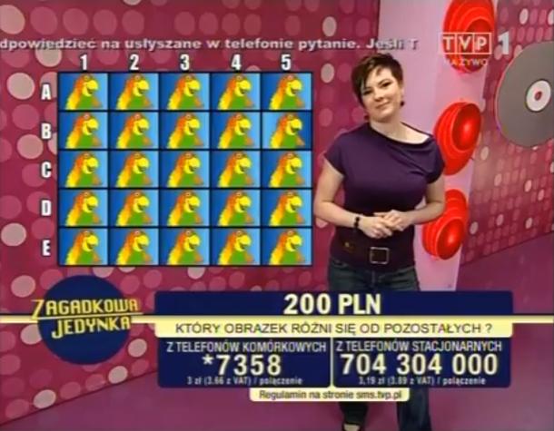 Zagadkowa jedynka - Olga Pęczak